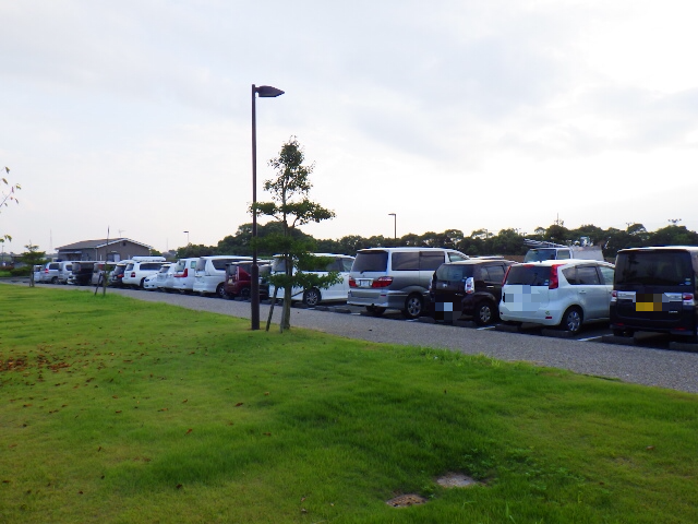 梅田川ブログ駐車場