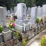 豊橋市の寺院様墓地でお墓の解体工事です。