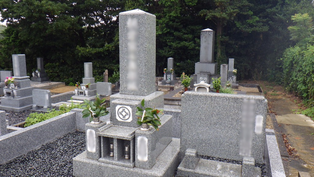 西山墓地2