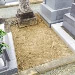 豊橋市 お寺様の墓地にてお見積りのための現地確認です。