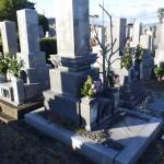 豊橋市営飯村墓地 傾き直しのご相談です。