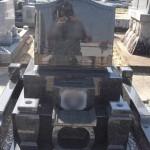 豊橋市 地域墓地にてお墓の工事です。