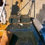 湖西市 湖西市営利木墓園にて墓石工事です。