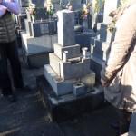 豊川市 お寺様の墓地にて墓石建立のご相談です。