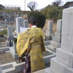 豊橋市 北尾山新墓地にてお精抜きの立ち合い代行です。