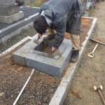 豊橋市 北尾山新墓地にてお墓じまいです。