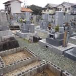 豊橋市 お寺様の墓地にて墓石建立のご相談です。