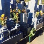 豊川市 お寺様の墓地にてお墓の建て替えのご相談です。
