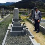 豊橋市 地域墓地にてリフォームと傾き直しのご相談です。