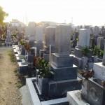 豊橋市 お寺様の墓地にて墓石の建て替えのご相談です。