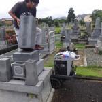 豊橋市営飯村墓地にてお墓じまい お骨の取り扱いから整地までしっかりと行います。