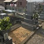 豊橋市 地域墓地にて墓石建立のご相談です。 傾斜地でも安心してお参りして頂けるお墓づくり。お墓の設計とお見積りは無料にて複数のプランをご提案いたします。
