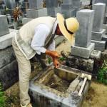 豊橋市 お寺様の墓地にてお墓じまい お墓の解体からお骨の永代供養まで石寅にお任せください。